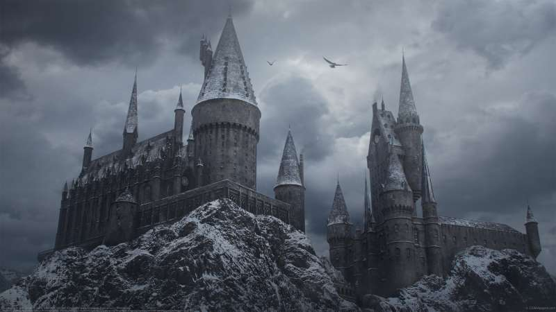 Hogwarts in the Snow wallpaper or background