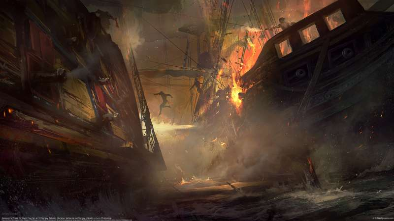 Assassin's Creed IV Black Flag fan art wallpaper