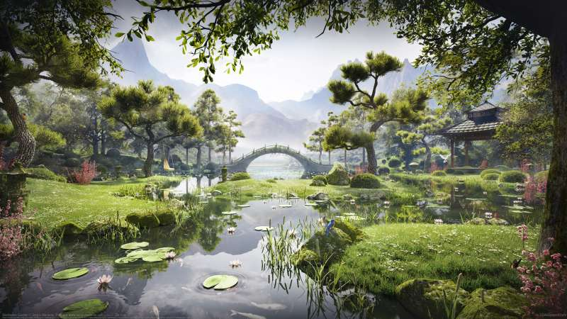 Meditation Garden wallpaper or background