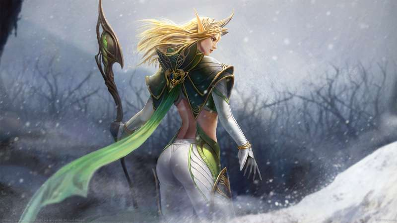 Elf Queen wallpaper or background
