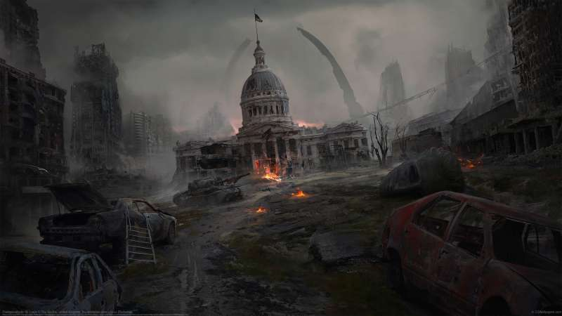 Postapocalyptic St. Louis wallpaper or background
