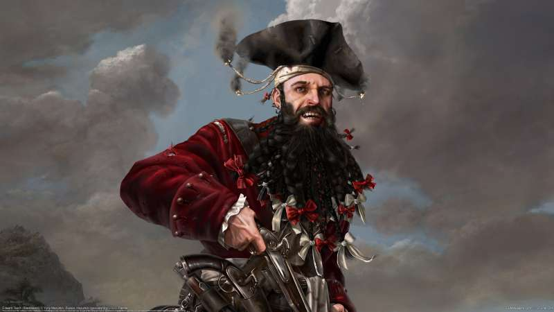 Edward Teach (Blackbeard) wallpaper